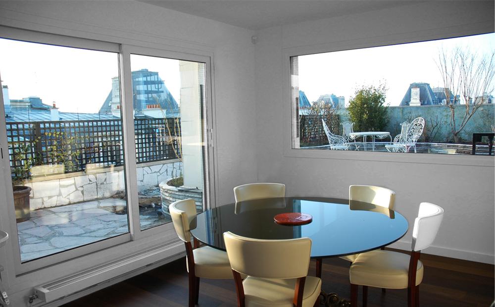 2 appartements en 1 duplex officina architecture - Appartement en duplex abraham architects ...